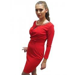 Елегантна червена рокличка