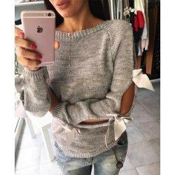 Блузка фино плетена