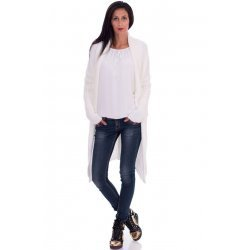 Дамска жилетка бяла