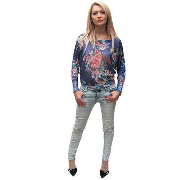 Блуза плетена