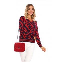 Памучна блуза Fendi
