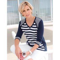 Фино плетена памучна блуза