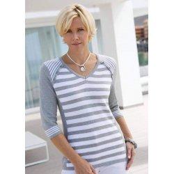 Макси памучна блуза