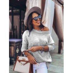 Зимен плетен пуловер