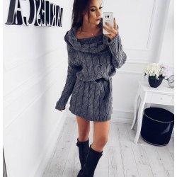Зимна рокля плетиво