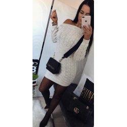 Плетена къса рокля
