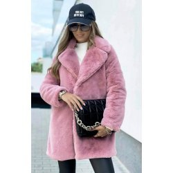 Дамско палто от плюш