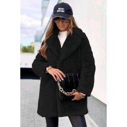 Палто дамско черно