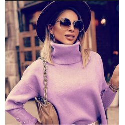 Зимен пуловер поло