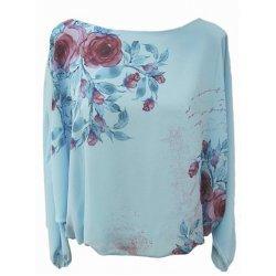 Блуза прилеп ръкав
