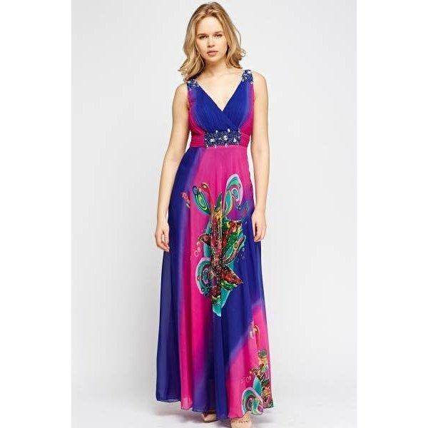Дамска дълга рокля Елвира