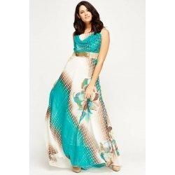 Дълга шифонена рокля