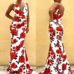 Дълга рокля лятна