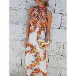 Дълга рокля от шифон Жаклин