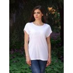 Бяла лятна блузка