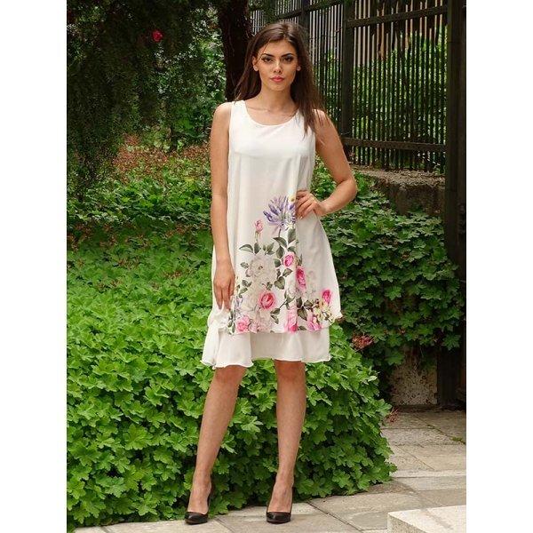Лятна рокля с цветя