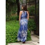 Дълга рокля от шифон Моника