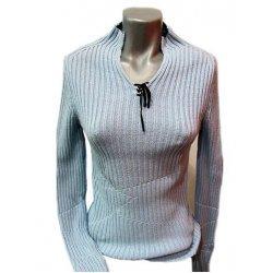 Плетена памучна блуза