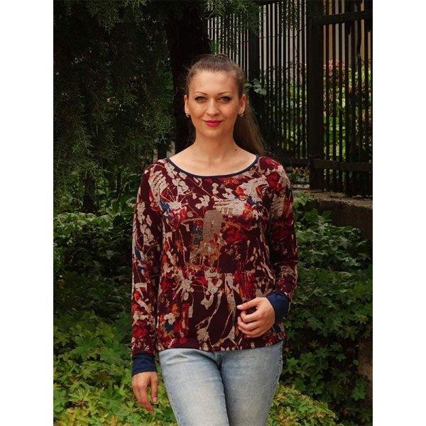 Дамска блуза с дълъг ръкав 2018