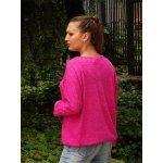 Дамска блуза прилеп ръкав Наталия