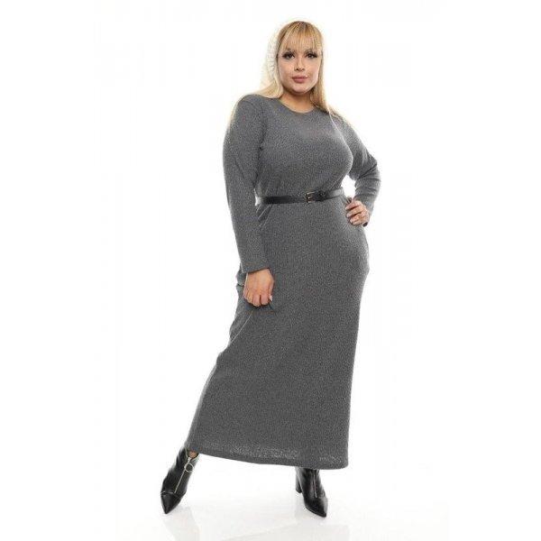 Дълга макси рокля за есента
