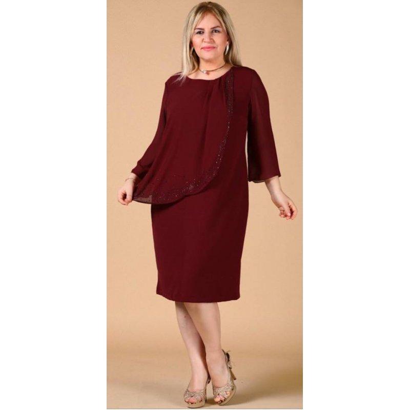 5f93c0c33c5 Макси рокля онлайн цвят бордо