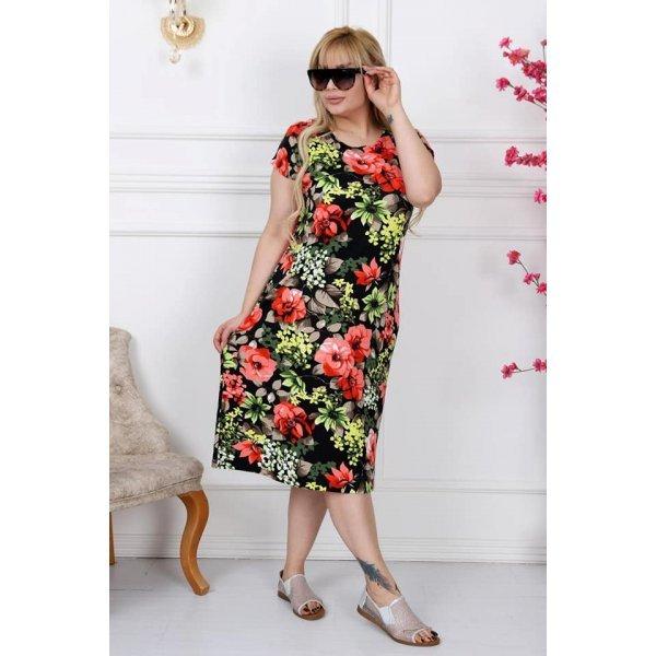 Макси рокля на цветя