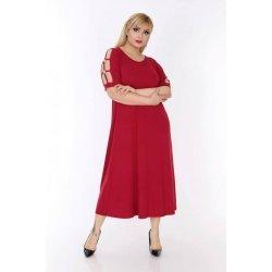 Макси рокля от трико
