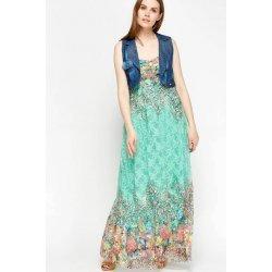 Дантелена рокля с елече