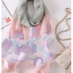 Дамски шал летен