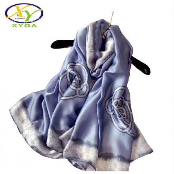 Дамски копринен шал
