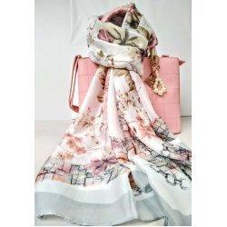 Летен луксозен шал