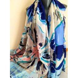 Памучен летен шал