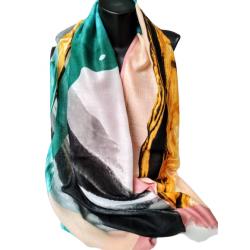 Стилен памучен шал
